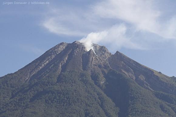 aktiver Vulkan