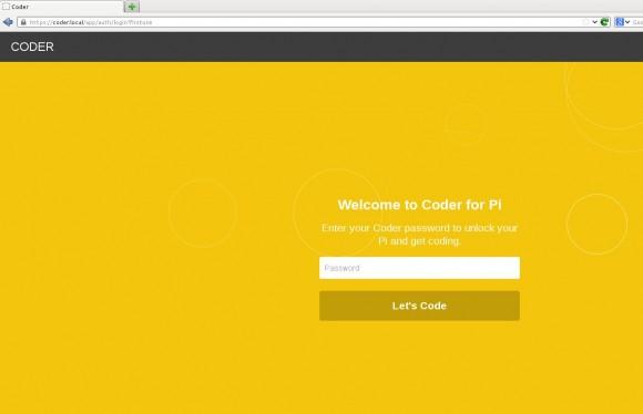 Coder: Login