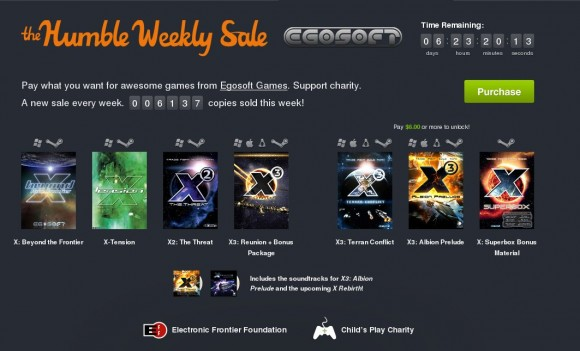 Humble Weekly Sale: Egosoft