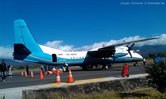 Inlandsflüge: Viele mit Propeller-Maschinen