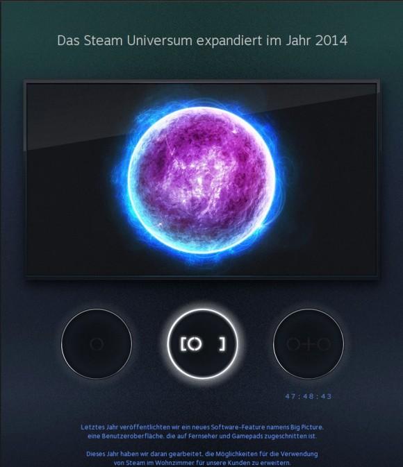 Steam kündigt Prototypen an