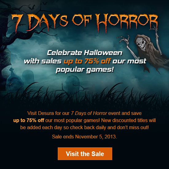 Seven Days of Horror (Quelle: desura.com)