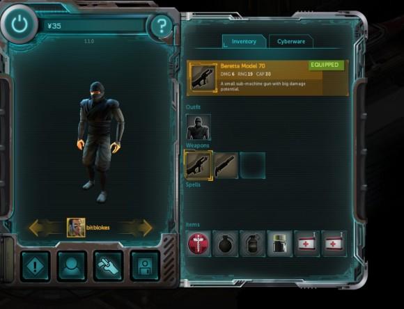 Shadowrun Returns: Charakter-Übersicht