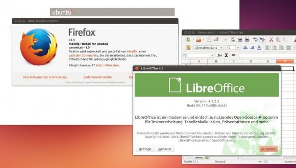 Firefox 24 und LibreOffice 4.1