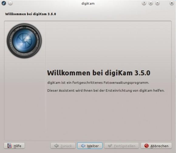 digiKam 3.5 unter Kubuntu 13.10