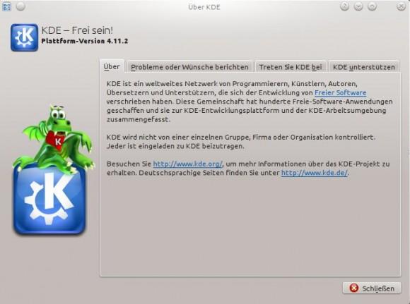 KDE 4.11.2