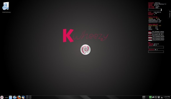 Kwheezy 1.3: Desktop