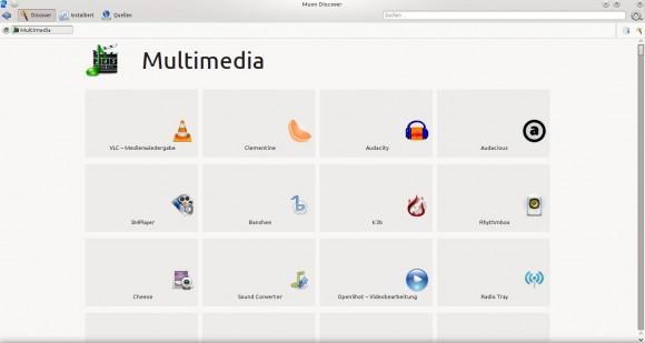 Muon Discover: Multimedia