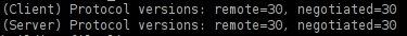 rsync-Version schätzen