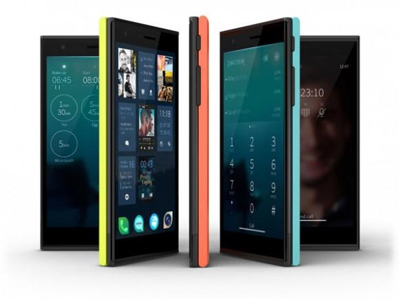 Jollas Smartphone mit SailfishOS (Quelle: jolla.com)