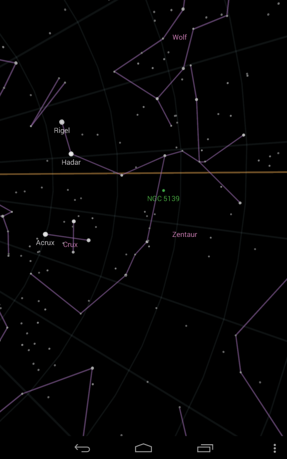 Rigel? Nein, es ist Alpha Centauri!