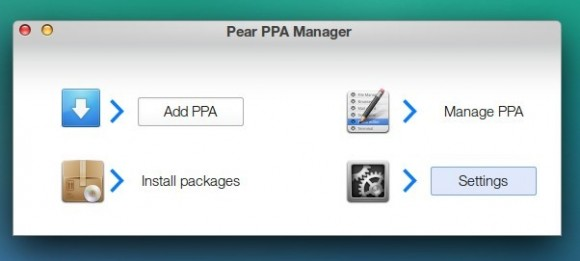 Pear OS 8: Pear PPA Manager
