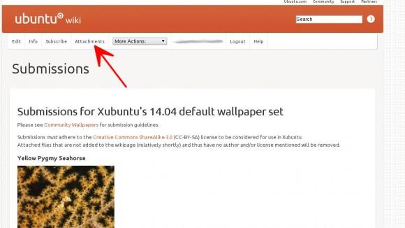 Xubuntu Wallpaper-Wettbewerb: Bild hinzufügen