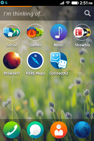 Firefox OS 1.3: Homescreen