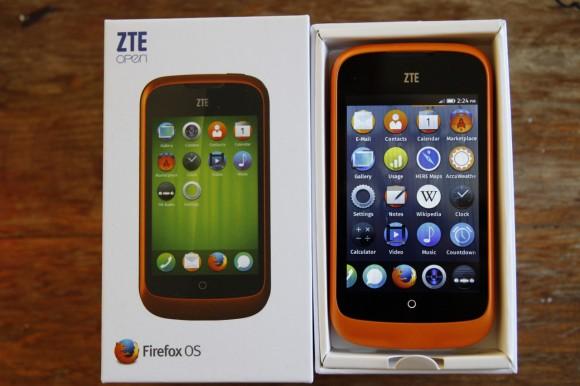 ZTE Open mit Firefox OS