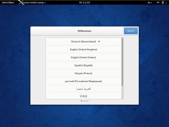 Fedora 20: Willkommen