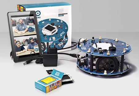 Arduino Robot: Arduino auf Rädern