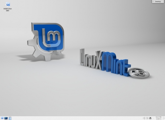 Linux Mint 16: KDE (Quelle: linuxmint.com)
