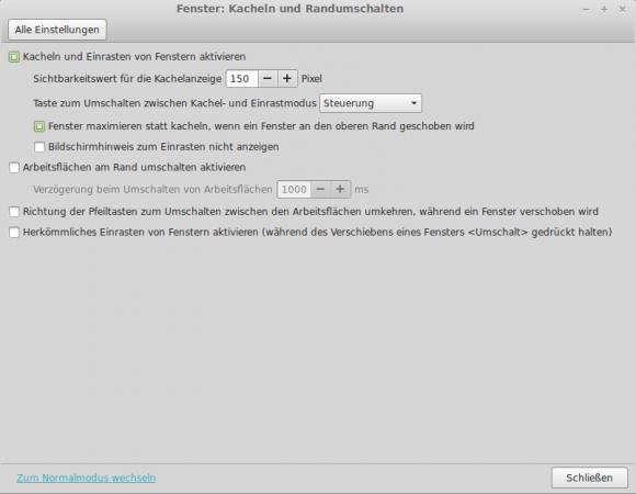 Linux Mint 16: Fenster maximieren
