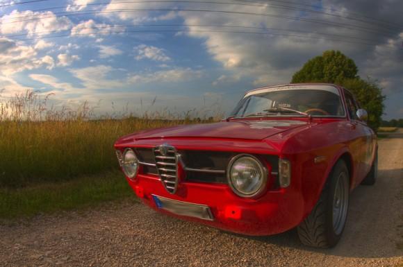 Alpha Romeo Giulia (HDR)