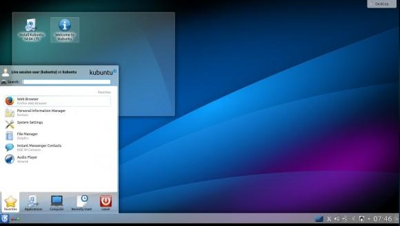 Kubuntu 14.04: Desktop