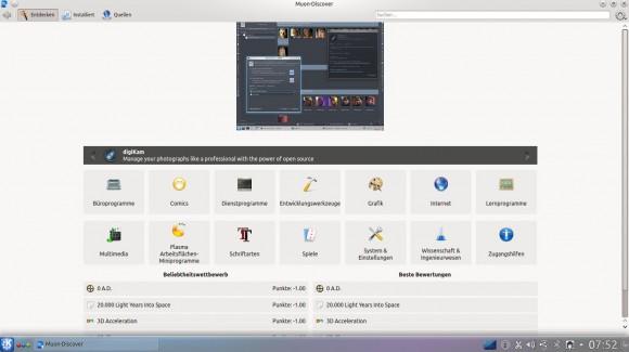 Kubuntu 14.04: Muon Discover