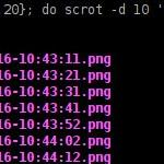 Screenshots mit scrot – funktioniert hervorragend mit Raspberry Pi