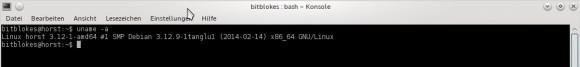 Tanglu 1.0 KDE: Kernel 3.12
