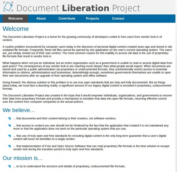 Document Libreation Project