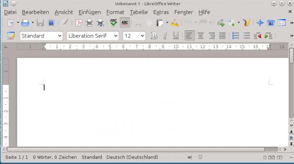 LibreOffice: Mit KDE-Paket