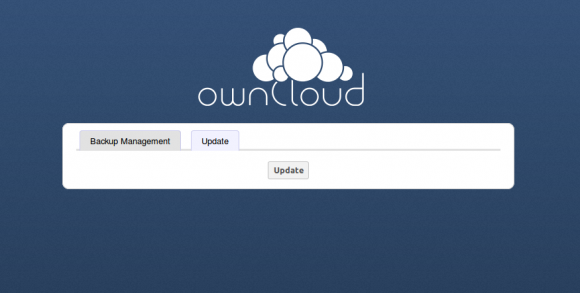 ownCloud: Update-Center