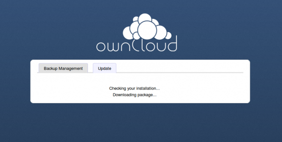 ownCloud: Updating