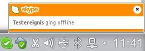 Skype für Linux: Ereignis
