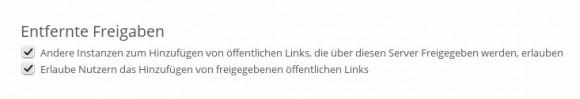 ownCloud 7: Server-zu-Server-Sharing