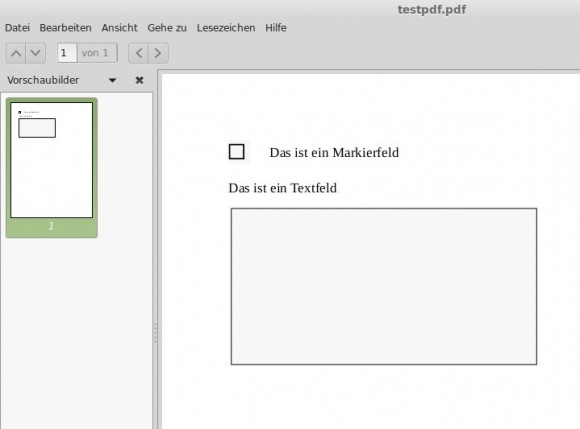 PDF-Datei mit Fomularfeldern