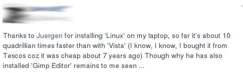 Windows-Umstieg auf Linux: So etwas hört man doch gerne