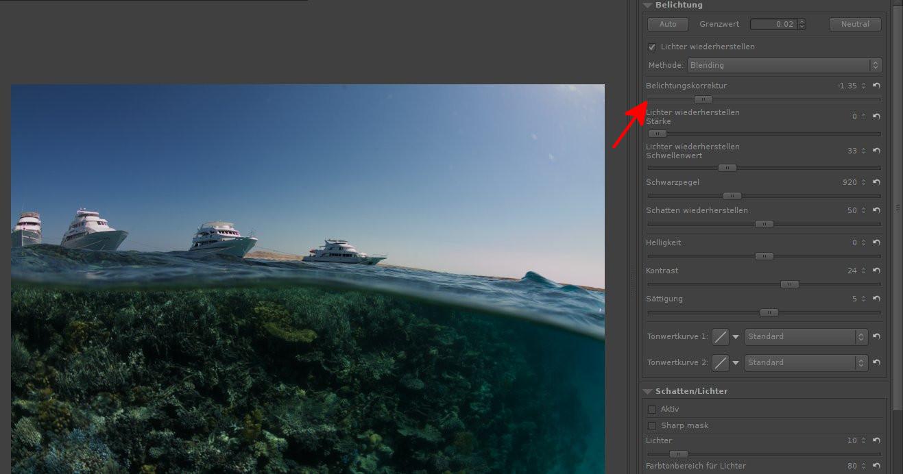 Bildbearbeitung Linux: Foto mit RawTherapee und GIMP verbessern
