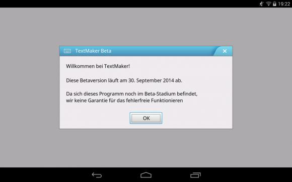 SoftMaker Office HD für Android: Noch bis 30. September kostenlos testen