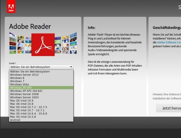 Adobe Reader für Linux nicht mehr dabei