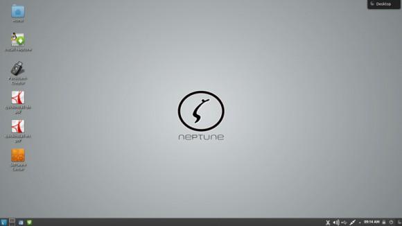 Neptune OS 4.2: Desktop (Quelle: http://neptuneos.com)