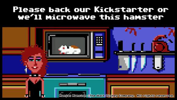 Entwickler von Thimbleweed Park sollen den Hamster am Leben lassen! (Quelle: kickstarter.com)