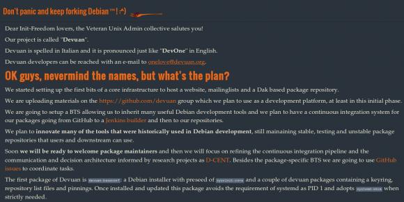 Devuan: Der Debian-Fork