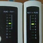 Das Ethernet-Kabel kann kaputt sein, auch wenn der Kabeltester das Gegenteil behauptet