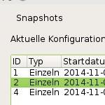 Btrfs-Snapshots: Snapper unter openSUSE 13.2 nutzen – Keine Konfiguration vorhanden