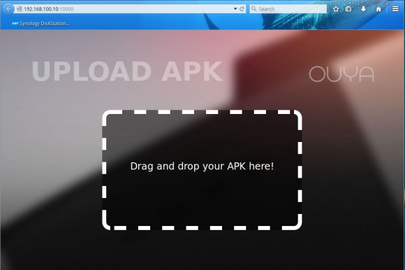 APK via Browser hochladen