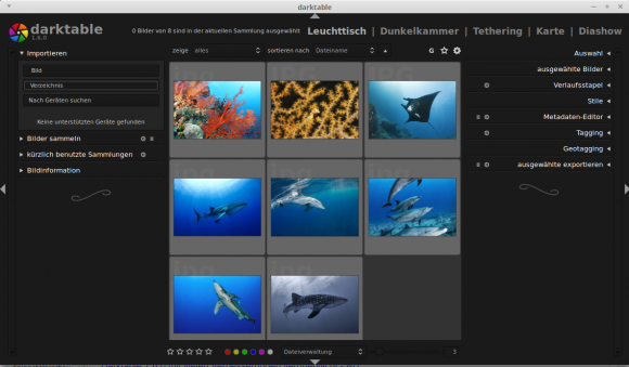 Darktable 1.6.0