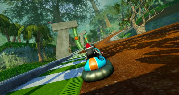 SuperTuxKart: Cocoa Temple (Quelle: supertuxkart.blogspot.com)