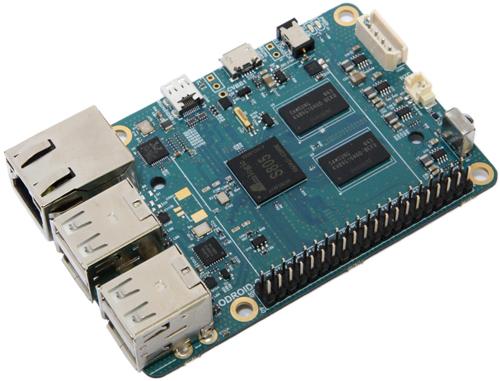 ODROID-C1: Ähnlich groß wie ein Raspberry Pi aber leistungsfähiger