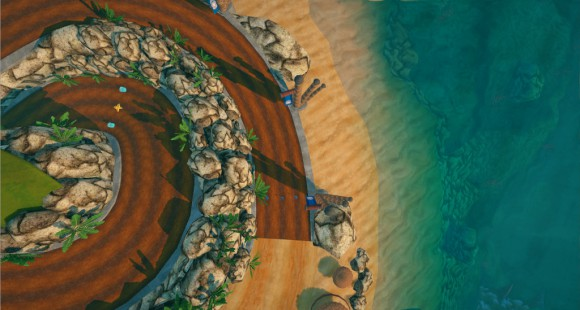 Gran Paradiso Island (Quelle: supertuxkart.blogspot.com)