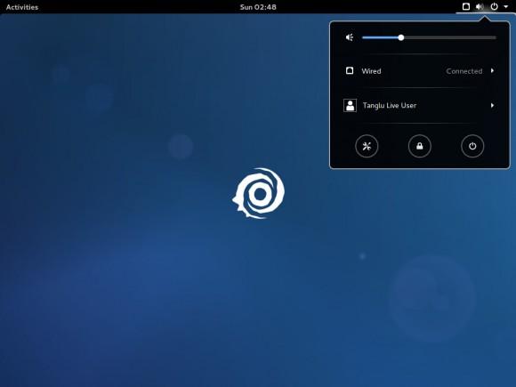 Tanglu 2: GNOME-Version (Quelle: tanglu.org)